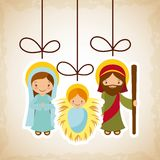 Holy family design Royalty Free Stock Photography
