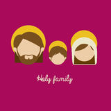 Holy family Stock Photo