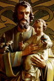 The Holy Family Josef and Jesus Royalty Free Stock Images