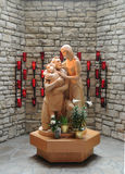 Holy Family Statue Stock Images