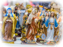 Holy figurines Stock Image