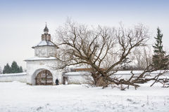 Holy Gates in Alexandrovsky monastery Royalty Free Stock Images
