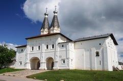 Holy Gates of Ferapontov Monastery Stock Photos
