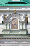 Holy Gates and gate tower. Holy Trinity St. Sergius Lavra. Royalty Free Stock Image
