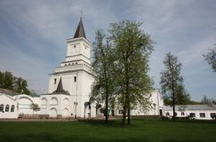 Holy Gates. St. Nicholas Ugreshsky monastery. Stock Photography