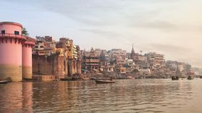 Holy ghat of varanasi, dead city Stock Images