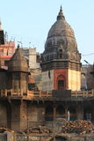 The Holy Ghats of Varanasi Stock Photos