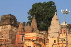 The Holy Ghats of Varanasi Royalty Free Stock Photo