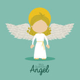 Holy guardian angel Royalty Free Stock Photos