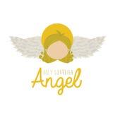 Holy guardian angel Stock Image