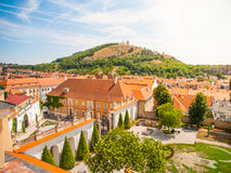 Holy Hill above Mikulov Royalty Free Stock Photos
