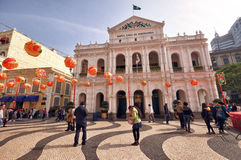 Holy House of Mercy of Macau Stock Images