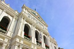 Holy House of Mercy, Macau, China royalty free stock photos
