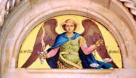 Holy icon. Christian holy icon of saint Stock Images