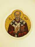 Holy icon St. Nicola Royalty Free Stock Photo