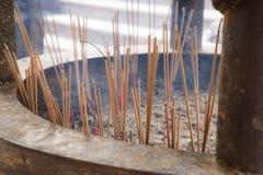 Holy incense joss stick Stock Image