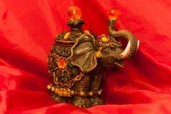 Holy Indian Elephant Figurine Royalty Free Stock Photos