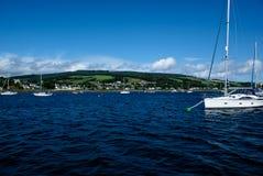 Holy Island Stock Photo