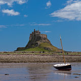 Holy Island Stock Image