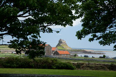 Holy Island Royalty Free Stock Photo
