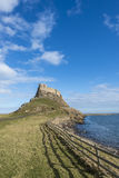 Holy Island castle Stock Images
