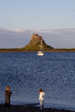 Holy Island, Northumberland Royalty Free Stock Photography