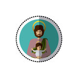 Holy joseph christianity Royalty Free Stock Photo
