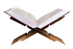 Holy Koran. Isolated on white. Stock Image