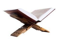 Holy Koran. Isolated on white. Royalty Free Stock Photo
