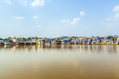 Holy lake in Pushkar, India Stock Image