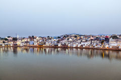 Holy lake in Pushkar, India Royalty Free Stock Photos
