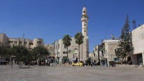 Holy Land. Bethlehem. City of David. Palestinian National Authority stock video