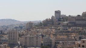Holy Land. Bethlehem. Palestinian National Authority stock video footage