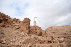 Holy land desert christianity Stock Photo