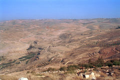 The Holy Land, Madaba, Jordan Royalty Free Stock Photo
