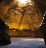 Holy land Series -  Beit Guvrin National Park -Bell Cave  Royalty Free Stock Image