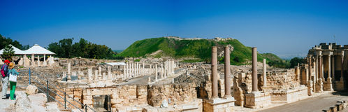 Holy land Series - Beit Shean ruins#2 Royalty Free Stock Images