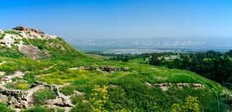 Holy land Series - Beit Shean ruins#8 Royalty Free Stock Photo