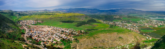 Holy land Series -Mt. Arbel and Wadi Hamam - Winter edition 2 Royalty Free Stock Images