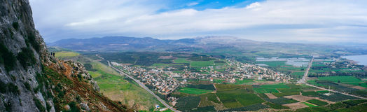 Holy land Series - Mt. Arbel - Winter edition 3 Stock Photo