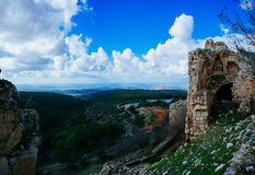Holy land Series -Yehi`am Fortress National Park 2 Royalty Free Stock Image