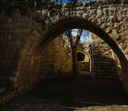Holy land Series -Yehi`am Fortress National Park 6 Stock Photography