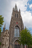 Holy Magdalena church, Bruges Royalty Free Stock Images