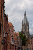 Holy Magdalena church, Bruges Stock Image