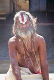 Holy man, India Royalty Free Stock Photos