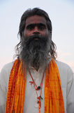 Holy man in Nepal Royalty Free Stock Photography