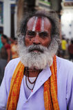 Holy man in Nepal Stock Photos