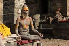 Holy man (Sadhu) Stock Images
