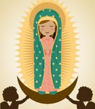 Holy Mary design Stock Photography