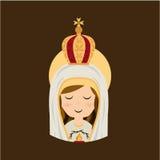 Holy Mary design Stock Image